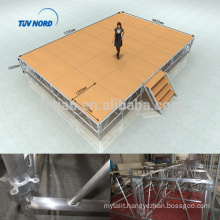 Shanghai supplier light weight outdoor concert stage design