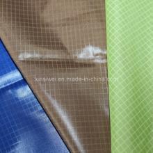 Check Polyester Taffeta Fabric (SLTN9181)