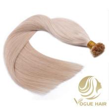Vente en gros Extensions de cheveux à pointe plate à la kératine