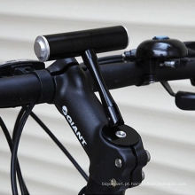 Suporte de extensão de bicicleta de montanha Bicicleta clipes de luz Fixo assento T-racks Guiador