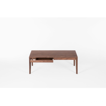 FAS Walnut Two Drawers Couchtisch