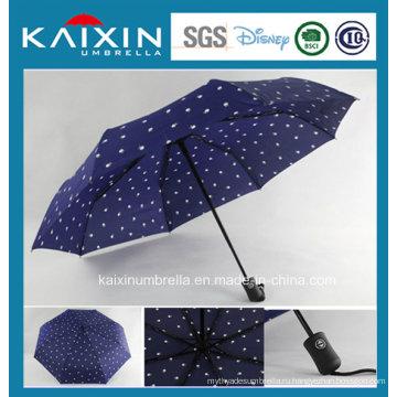 CIQ Рекламные Авто Открытые и закрытые пользовательские печатные зонтик