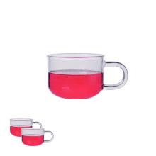 Heat-Resistant Borosilicate Tea Glass Mug Tea Cup