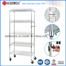 NSF Anti-Static ESD Industrial Metal Cart / Rolling Cart (TR9045180A5C)