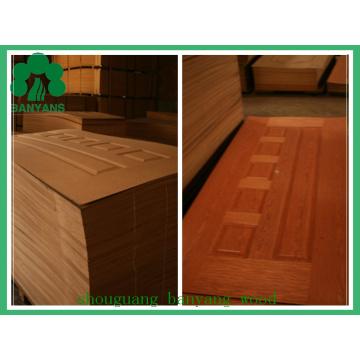 HDF Door Skin/Natural Wood Veneer Door Skin/Melamine Door Skin