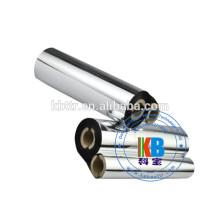 Type de ruban d'imprimante à transfert thermique noyau demi-pouce zèbre laver ruban de transfert thermique noir