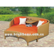 Wicker Rattan Double Sofa Set Garden Outdoor Furniture Bl-2332