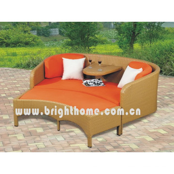 Wicker Rattan Double Sofa Set Garden Outdoor Furniture Bl-2332