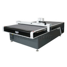 CNC Oscillating Knife Cutting Machine for Leather Corrugated Paper Gasket, Vibration Round Straight Knife Cloth Cutting Machine