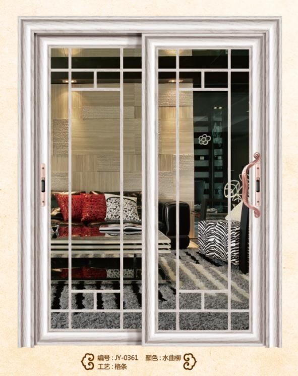 aluminum tempered glass sliding doors house gate designs