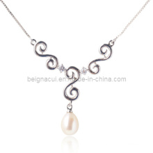 Collier 925 Silver Peal Freshwater
