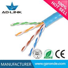 Câble de réseau de Shenzhen cat5e câble de réseau avec CE RoHs FCC UL Certification