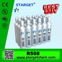 Gás r508b refrigerante com alta pureza e manufatura r508b