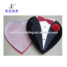 Boîtes d'emballage de modèle d'artisanat de boîte de papier de chocolat de qualité supérieure de meilleur service
