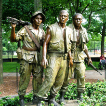 decoração pública homem de metal estátua tamanho de vida soldado escultura de bronze