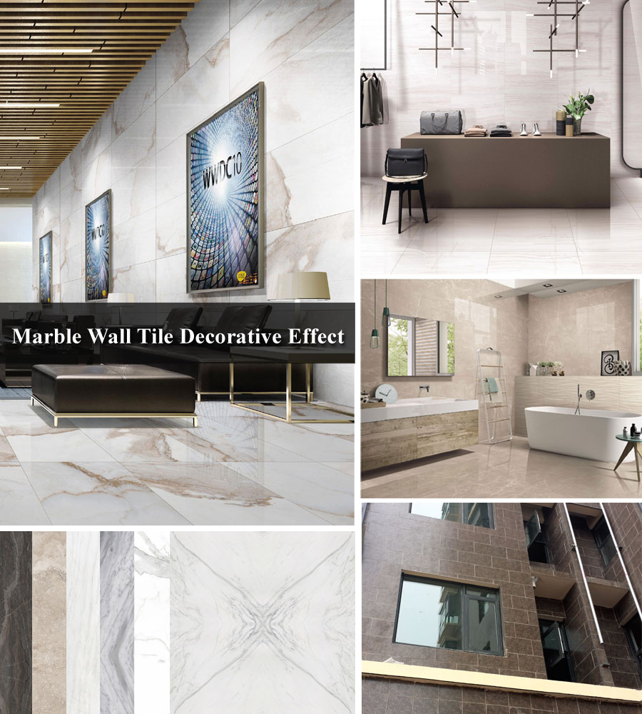 marble porcelain wall tile