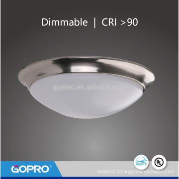 Lampe de plafond ronde LED nord-américaine 20W Dome