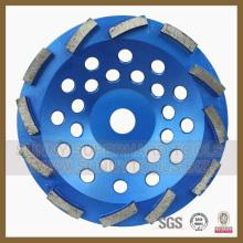 Roda abrasiva do copo do diamante para o assoalho e o assoalho da resina de cola Epoxy