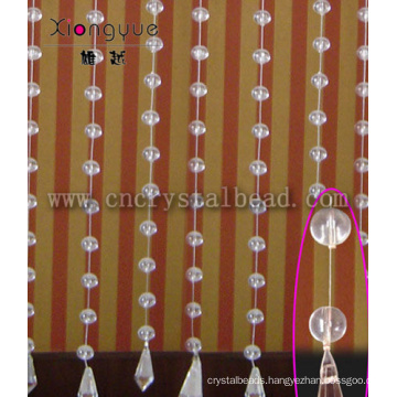 Glass Beaded Curtain For Indoor Decor