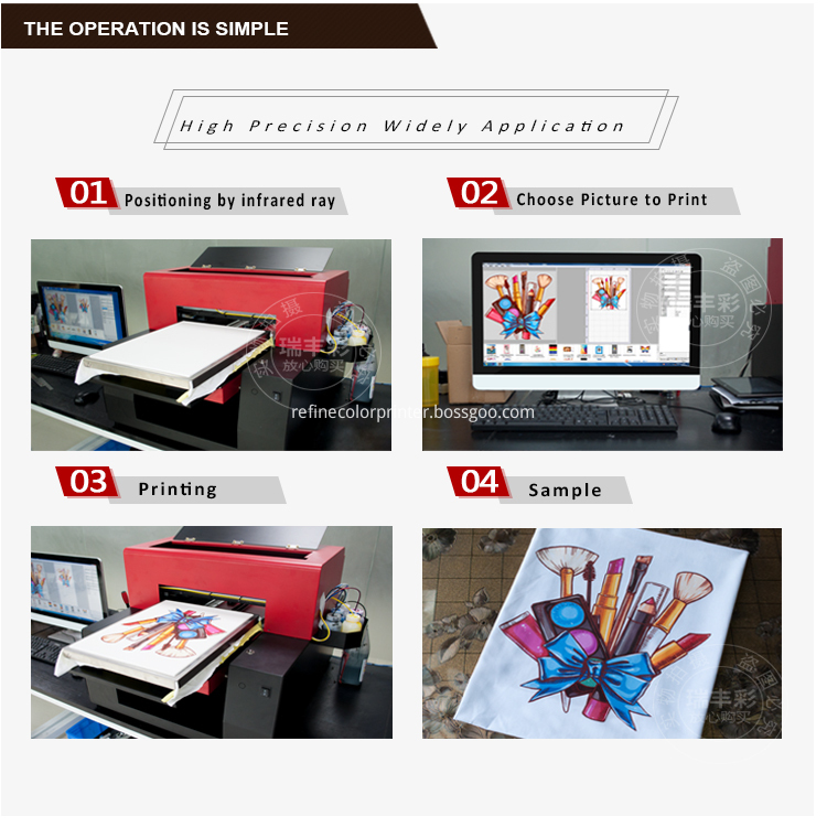 Good Quality Flatbed Shoes Printer