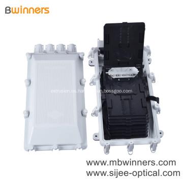 Ftth Joint Splice Closure 256Port Color White Fiber Optical Caja de conexiones de acceso universal