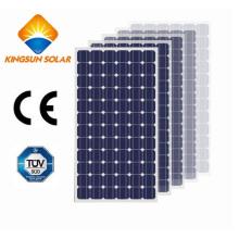 270W-290W El panel solar monocristalino estándar para el sistema de panel solar de la rejilla