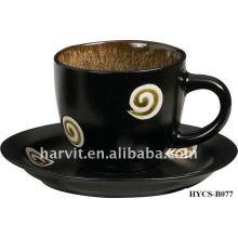 Bulk Ceramic Tea\Coffee Cup Set, Ceramic Cup and Saucer