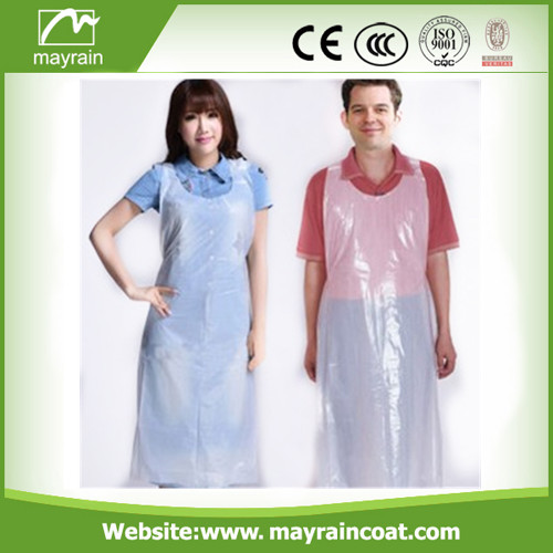 Transparent Color PE Smock