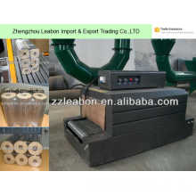 PE Contracting Pellicle Wood Briquette Wrapping Packing Machine