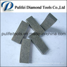 China Professional Manufacturer Pulifei 250-800mm Diamond Segment for Granite Rock