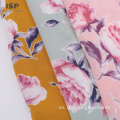 Eco Friendly Dyed Print 100% Rayon Crinkle Fabric