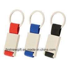 Metal Keyring Engrave Color Cadeau promotionnel avec le logo Comany (F1016)