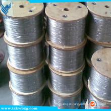 GB9787 304L fio de soldadura de aço inoxidável macio e decapado