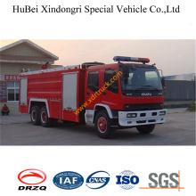 Camión de oferta de fuego de la espuma de 12ton Isuzu Euro3