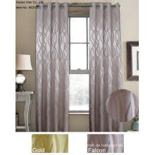 100% Polyester Jacquard Fenstervorhänge