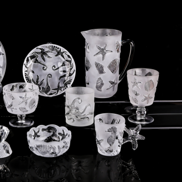Sea style drinkglaswerk set wijnglas