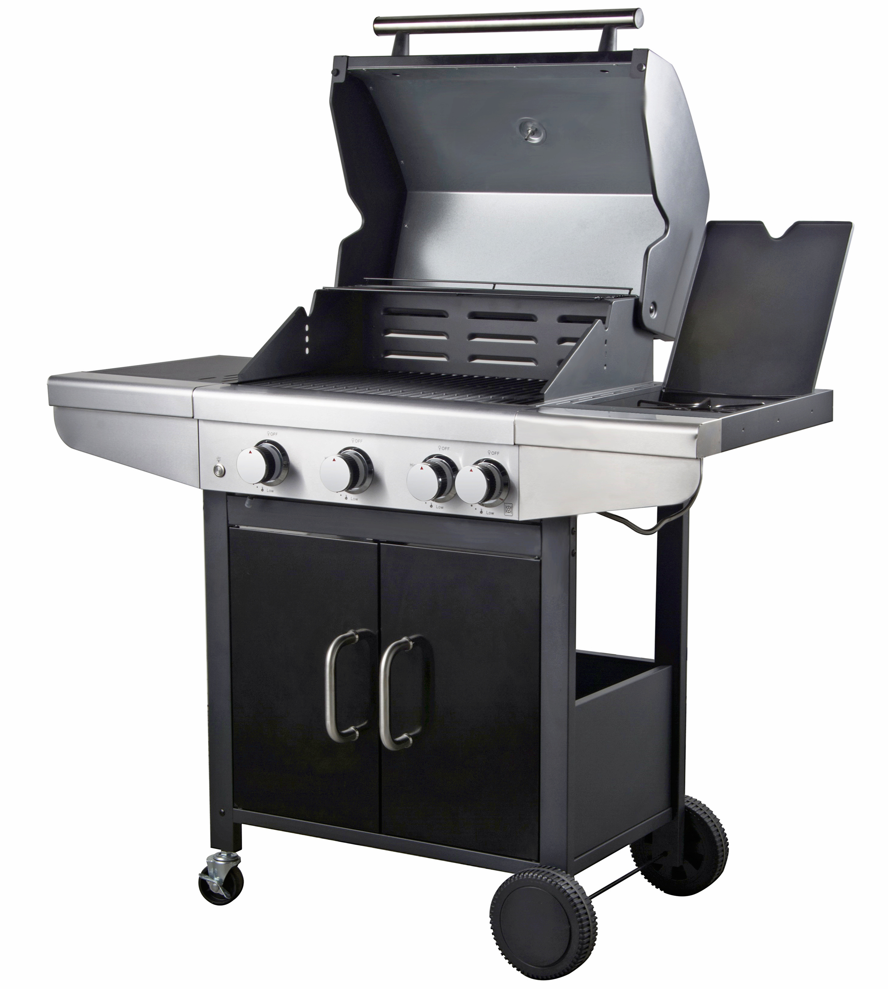 3 Burner Gas Grill for Garden
