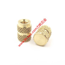 High Resistance Blind-Hole Brass Threaded Insert Nuts