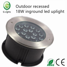 Al aire libre empotrado 18W inground led uplight