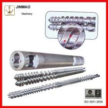 Barriles y tornillos gemelos paralelos de alta calidad para extrusión