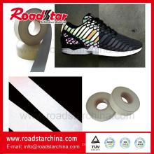 New PVC foam Leather reflective pvc foam leather