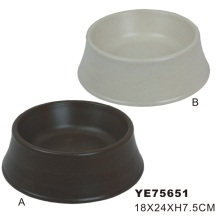 Bambú natural de alimentos para mascotas Bowl (ye75651)