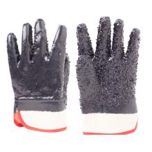 Anti-Schnitt-Handschuhe aus schwarzem PVC