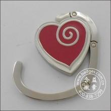 Anel de suspensão do saco da forma do coração, gancho do saco (GZHY-BHR-067)