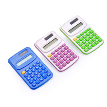 Calculadora de Bolso Mini Power Mini de 8 dígitos para estudantes