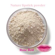 Naturlippenstiftpulver / Lebensmittelfarbe, die rotes Lippenstiftmaterial aus Naturpflanzen, Karotten usw. ändert