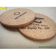Prácticos de costa resistentes al calor a prueba de corcho, posavasos de corcho (B & C-G072)
