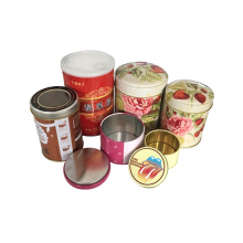Tin Can Canning Tea Coffee Tin Box Пользовательский логотип