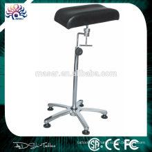 Altura ajustável couro tatuagem perna resto cadeira, feita na China profissional descanso braço descansar braço tatuagem, novo braço braço tatuagem