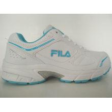 Al aire libre blanco PU deportes zapatos para correr para las mujeres